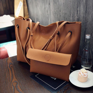 Two piece womens tote bag